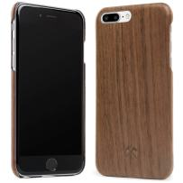 Woodcessories - EcoCase Slim Series - iPhone 7 Plus / 8 Plus Case, Cover, Protection Made of Real, Sustainable Wood Premium Design (Walnut)