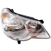 Replacement Passenger Type 1 Headlight Compatible with 2007-2010 Sebring 5303746AE
