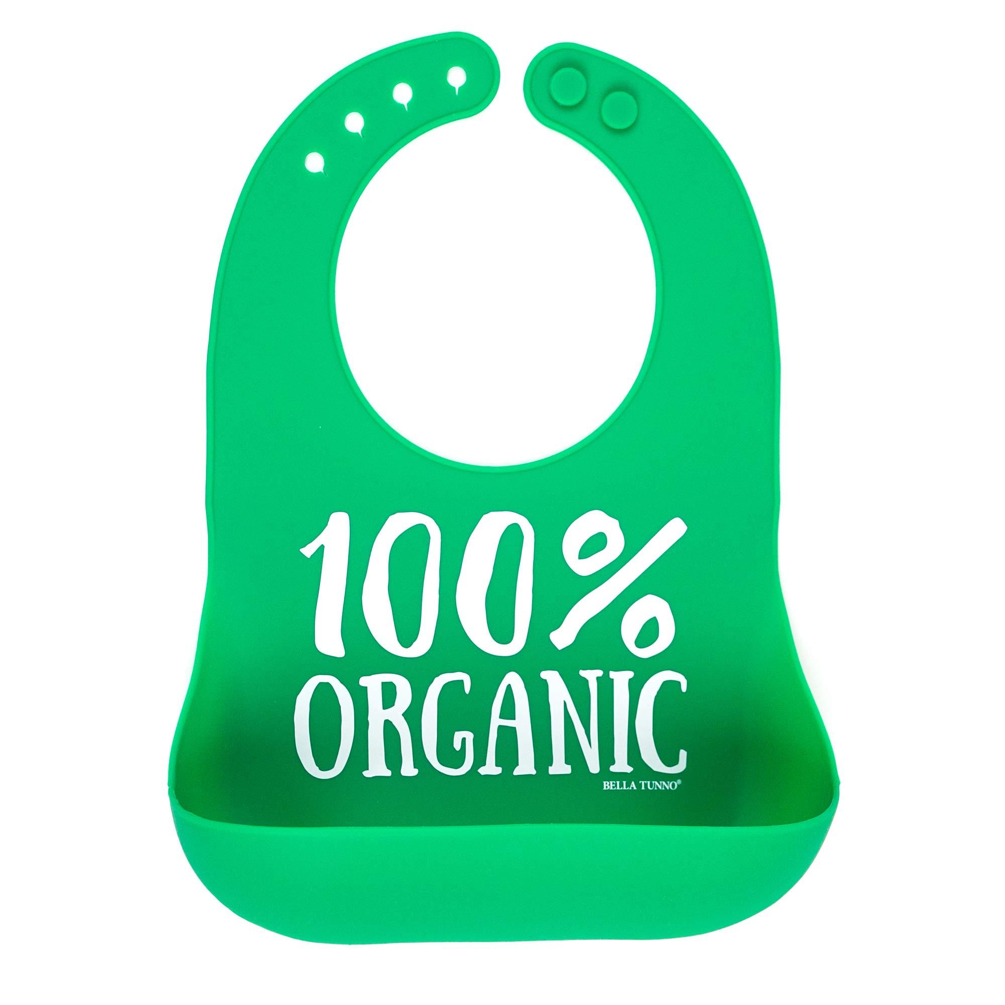 Bella Tunno Wonder Bib, Organic, Green