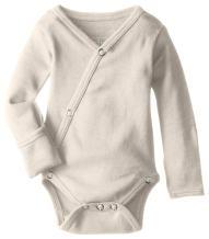 L'ovedbaby Unisex Baby Organic Kimono Bodysuit