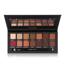 CCbeauty Pigmented 8 Matte 6 Shimmer Eyeshadow Palette High Pigmented 14 Colors with Mirror and Brush Long Lasting Eye Shadow Makeup
