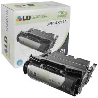 LD Remanufactured Toner Cartridge Replacement for Lexmark X644X11A Extra High Yield (Black)