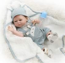 Zero Pam Washable Reborn Baby Dolls Silicone Vinyl Full Body Soft Reborn Newborn Preemie Boy Gifts