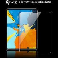 "SHARKSBox iPad Pro 11 inch Screen Protector for Apple iPad Pro 11"",3X Stronger Gorilla Glass Anti-Scratch HD Clear Tempered Glass Screen Protector for The All-Screen Apple iPad Pro 11 inch"