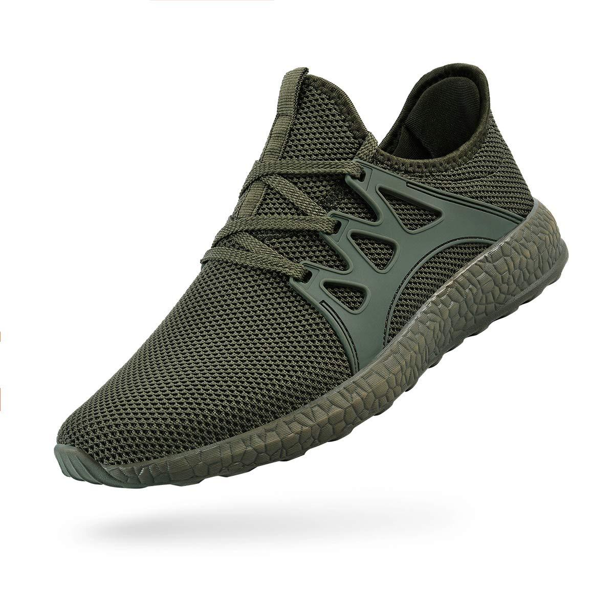 MARSVOVO Men's Air Knitted Running Shoes