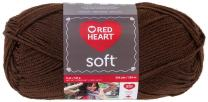 RED HEART Soft Yarn, Chocolate
