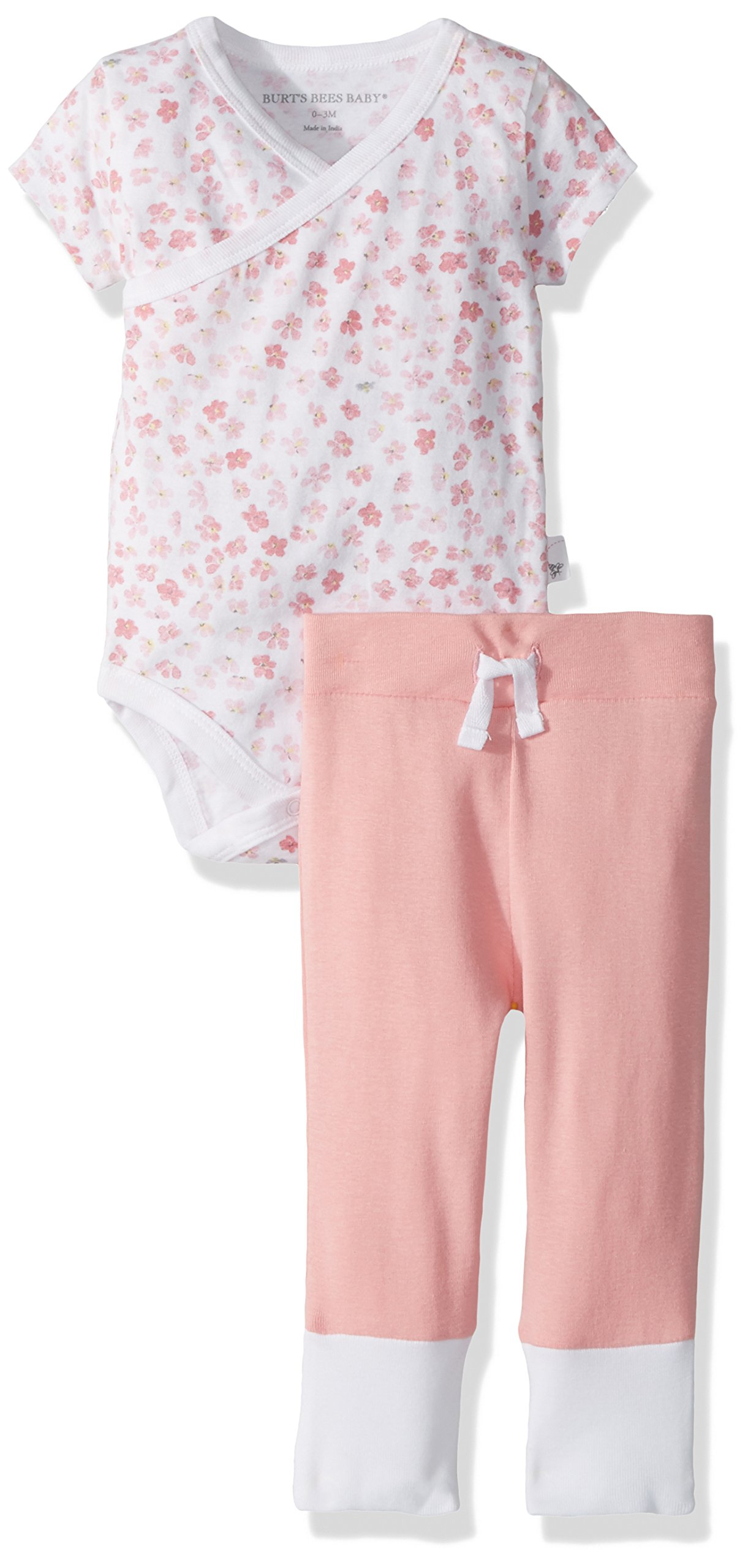 Burt's Bees Baby - Unisex Baby Bodysuit & Pant Set, 100% Organic Cotton