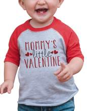 7 ate 9 Apparel Boy's Mommy's Little Valentine Toddler Vintage Baseball Tee