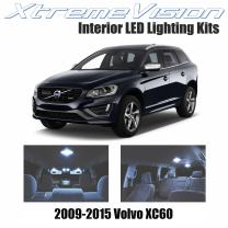 Xtremevision Interior LED for Volvo XC60 2009-2015 (9 Pieces) Cool White Interior LED Kit + Installation Tool
