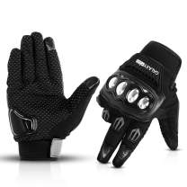 Galaxyman Touchscreen Full Finger Gloves for Motorcycle Riding Hiking Climbing Camping Work Sports Combat Training Shooting Outdoor Gloves (XL)