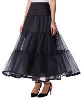 GRACE KARIN Women's Ankle Length Petticoats Skirts Wedding Half Slips Crinoline Underskirt