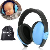 Baby Noise Canceling Headphones Adjustable Noise Protection Earmuffs for Autism Newborn Infant Hearing Protection for 3 Months to 2 Years, Blue