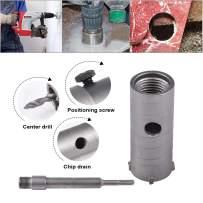 HOHXEN 30mm SDS Plus Shank Hole Saw Cutter Concrete Cement Stone Wall Drill Bit