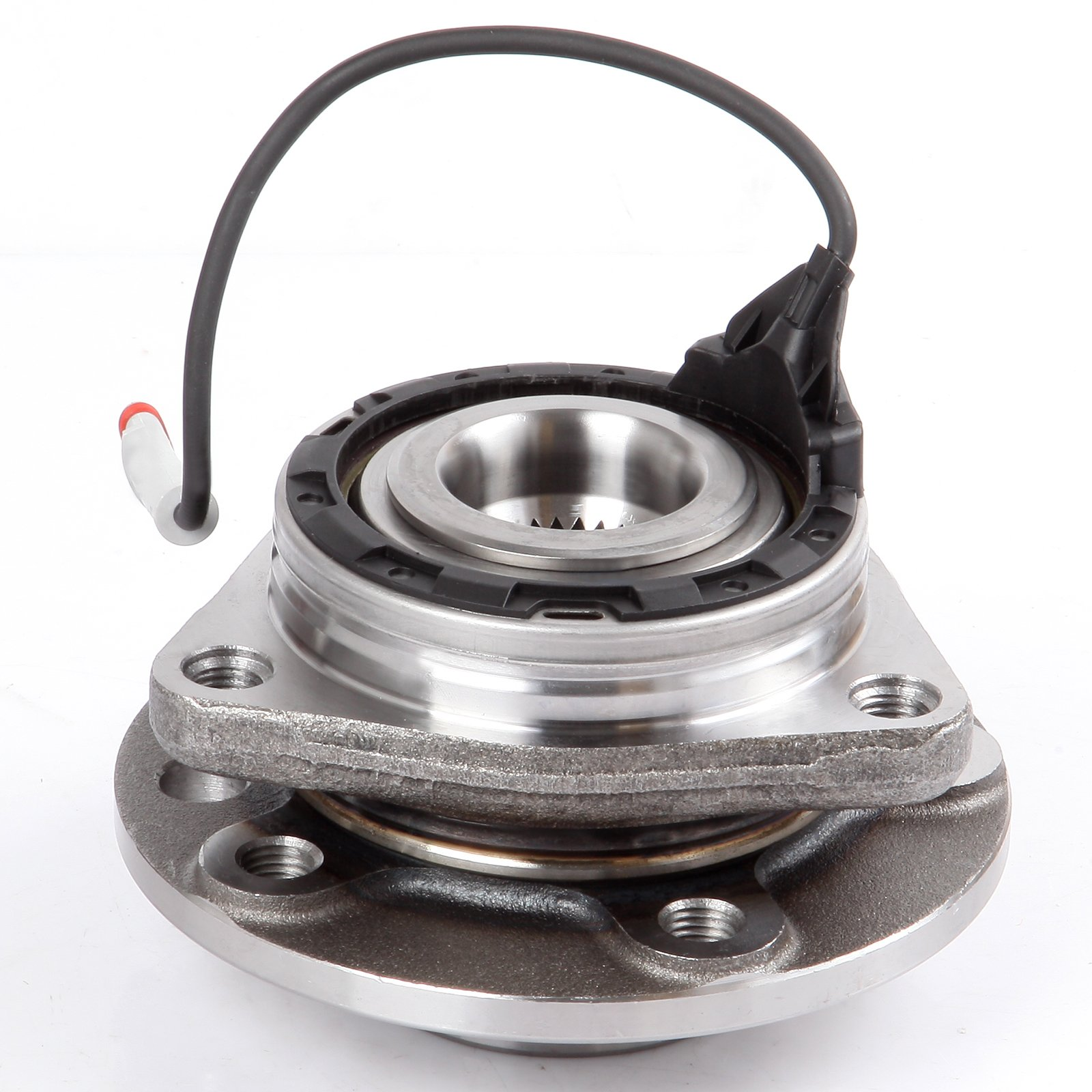 SCITOO Compatible with 513191 Front Wheel Hub Bearing Assembly fit 2003-2011 Saab 5 Lugs w/ABS