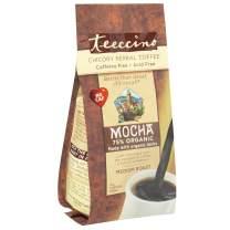 Teeccino Chicory Coffee Alternative - Mocha - Herbal Coffee | Ground Coffee Substitute | Prebiotic | Caffeine Free | Acid Free | Medium Roast, 11 ounce