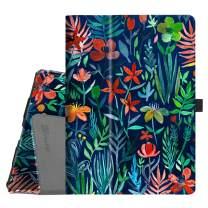 "Fintie Folio Case for iPad Air (3rd Gen) 10.5"" 2019 / iPad Pro 10.5"" 2017 - [Corner Protection] Premium PU Leather Smart Folio Cover with Pencil Holder, Auto Sleep/Wake, Jungle Night"