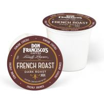 Don Francisco's French Dark Roast (55 Count) Recyclable Single-Serve Coffee Pods, Compatible with Keurig K-Cup Brewers