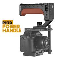 SOONWELL 70Wh Power Grip Battery Handle for DSLR Camera Sony A9 A7 A7R3 Series Camera Cage Rig with DC D-TAP USB Output & NP-ZF100 Dummy Battery -PH70