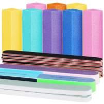 Nail Files and Buffers, FANDAMEI Professional Manicure Tools Kit Rectangular Art Care Buffer Block Tools 20Pcs/Pack