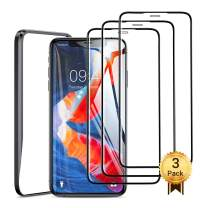 """AINOPE Screen Protector Compatible with iPhone 11 & iPhone XR (6.1""""),3D Touch Clear [Full Coverage] [Easy to Install] [Anti-Shatter] iPhone XR Tempered Glass Screen Protector (3 Packs)"""
