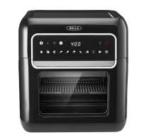 BELLA (14754) 10 Liter Air Fryer Oven Dehydrator, Black