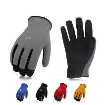 Vgo 5-Pairs Light-Duty Artificial Leather Work Gloves, Multi-Purpose & 360° Breathable Gloves, High Dexterity, Abrasion Resistant, Superior Colorfastness (Size XL, 5 Colors, AL8736)