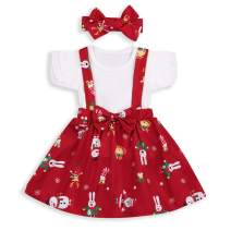 Spring Skirts Sets Toddler Baby Girl Sister Matching Ruffle T-Shirts Bunny Suspender Dress Summer Outfits Clothes