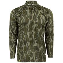 Mossy Oak Quarter Zip Camo Shirts for men, Hunting Clothes for Men, Camo Shirt