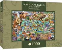 MasterPieces National Parks of Amercia, Jigsaw Puzzle, Maps, 1000 Pieces