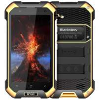 Rugged Cell Phones Unlocked,Blackview BV6000S Unlocked Smartphones IP68 Waterproof,Android 7.0 4G Dual SIM,4.7 Inch Quad Core 2GB+16GB,4500mAh Battery,[MIL-STD 810G],NFC,for AT&T/T-Mobile,Yellow