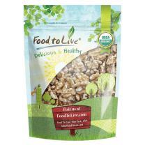 California Organic Walnuts, 8 Ounces - No Shell, Non-GMO, Kosher, Raw, Vegan, Bulk