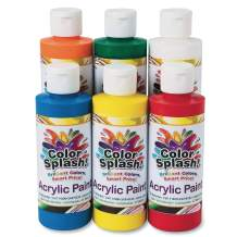 8-oz. Color Splash! Acrylic Paint Assortment (Set of 6)