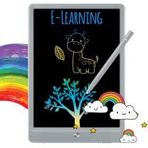 TEKFUN LCD Writing Tablet Doodle Board, 8.5-inch Colorful Drawing Tablet Writing Pad, Girls Gifts Toys for 3 4 5 6 7 Year Old Girls Boys (Gray)
