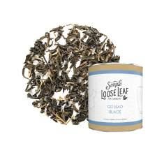 Simple Loose Leaf - Qu Hao Black Tea - Premium Loose Leaf Black Tea (4 oz) - High Caffeine - Rich Flavor - USA Hand Packaged - 60 Cups