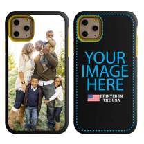 Custom iPhone 11 Pro Cases by Guard Dog - Personalized - Make Your Own Protective Hybrid Phone Case (Black, Yellow)