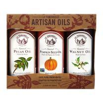 La Tourangelle, Pecan, Pumpkin, Walnut Trio of Oils, 25 Ounce