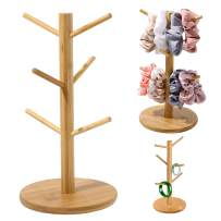 Scrunchie Holder Organizer Stand Bracelet Holder Accessories Jewelry Hair Tie Organizer Cute Stuff for Gils Bedroom The Perfect Hair Dresser Dislpay and Also can be Mug Tree Stand Cup Rack
