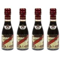 "Giusti - 5 Gold Medals ""Banda Rossa"" Champagnottina - Balsamic Vinegar from Modena Italy, 3.38fl oz / 100ml (pack of 4)"