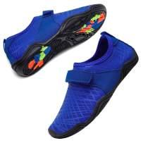 Dian Sen Boys & Girls Water Shoes Lightweight Beach Swim Soft Athletic Slip on Quick Drying Aqua Sock Shoes¡