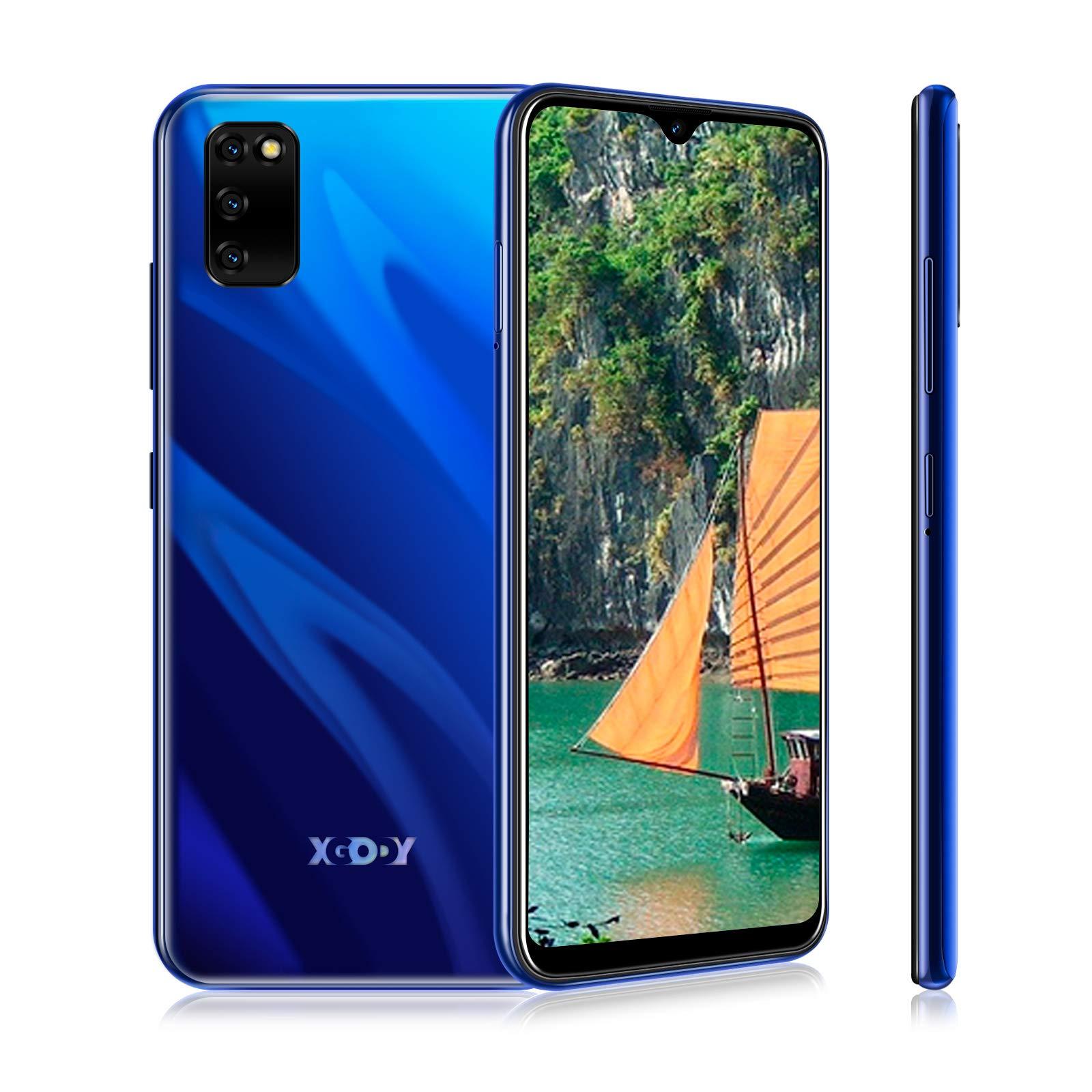 XGODY M30S Android 9.0 Smartphone 6.3'' 32GB 3GB Dual SIM 4G Unlocked Cell Phone LTE International use