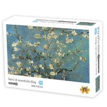 Puzzles for Adults 1000 Piece Large Puzzle, Vintage Paintings Landscape Jigsaw - Flower