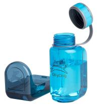 "OllyBottle Portable Travel Walking Hiking ""No Touch"" Water Bottle for Dog Pets by OllyDog"