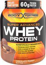 Body Fortress Super Advanced Whey Protein, Chocolate Peanut Butter, 1.95 lb. (885 g)