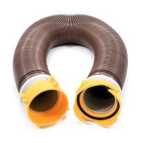 Camco 39623 Revolution 10' Sewer Hose Extension - Heavy Duty Design with Pre- Attached Swivel Lug and Bayonet Fittings, Easy to Use and Compresses for Simple Storage