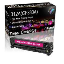 Kolasels Compatible Toner Cartridge (Magenta, 1-Pack) Replacement for HP 312A CF383A Toner Cartridge to use with Color Laserjet Pro MFP M476dn M476dw M476nw Printer (High Yield)