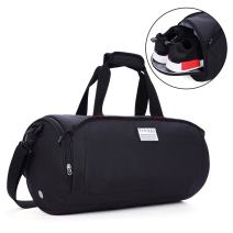 TINYAT Sports Gym Luggage Bag with Shoes Compartment Duffel Bags for Women and Men Flight Bag Weekender Travel Suit Bag T308