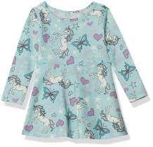 The Children's Place Baby Girls' Long Sleeve Pleated Dress