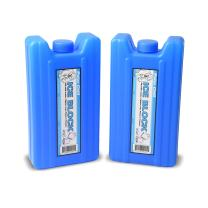 GoPong Sneak Alcohol Anywhere Ice Flask (2 Pack), Blue