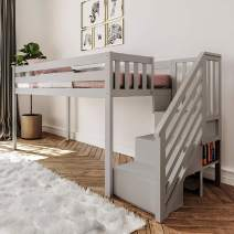 Max & Lily 180224-121 Loft, Low Staircase, Grey
