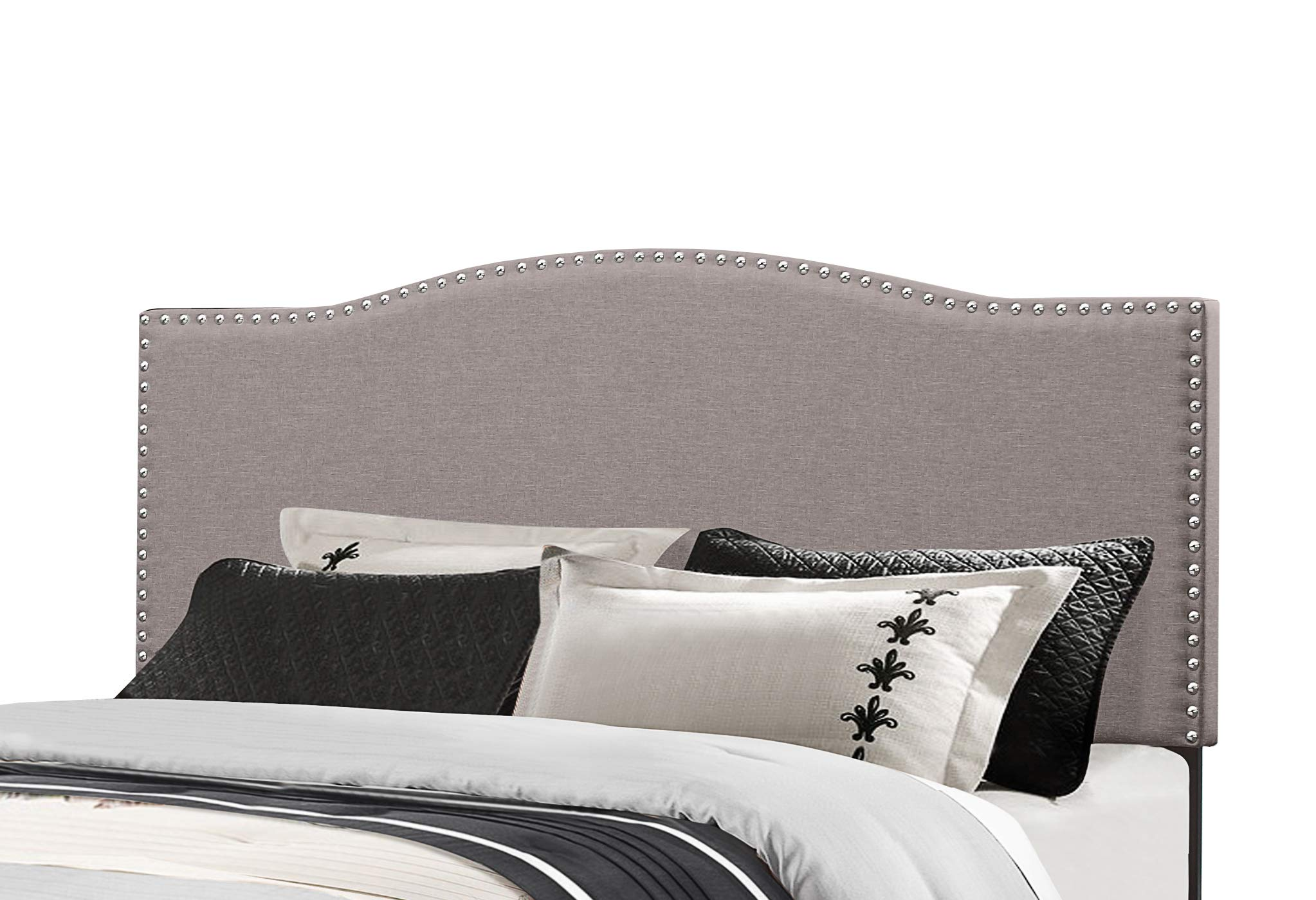 Hillsdale Furniture Kiley Headboard Without Frame Full/Queen Glacier Gray